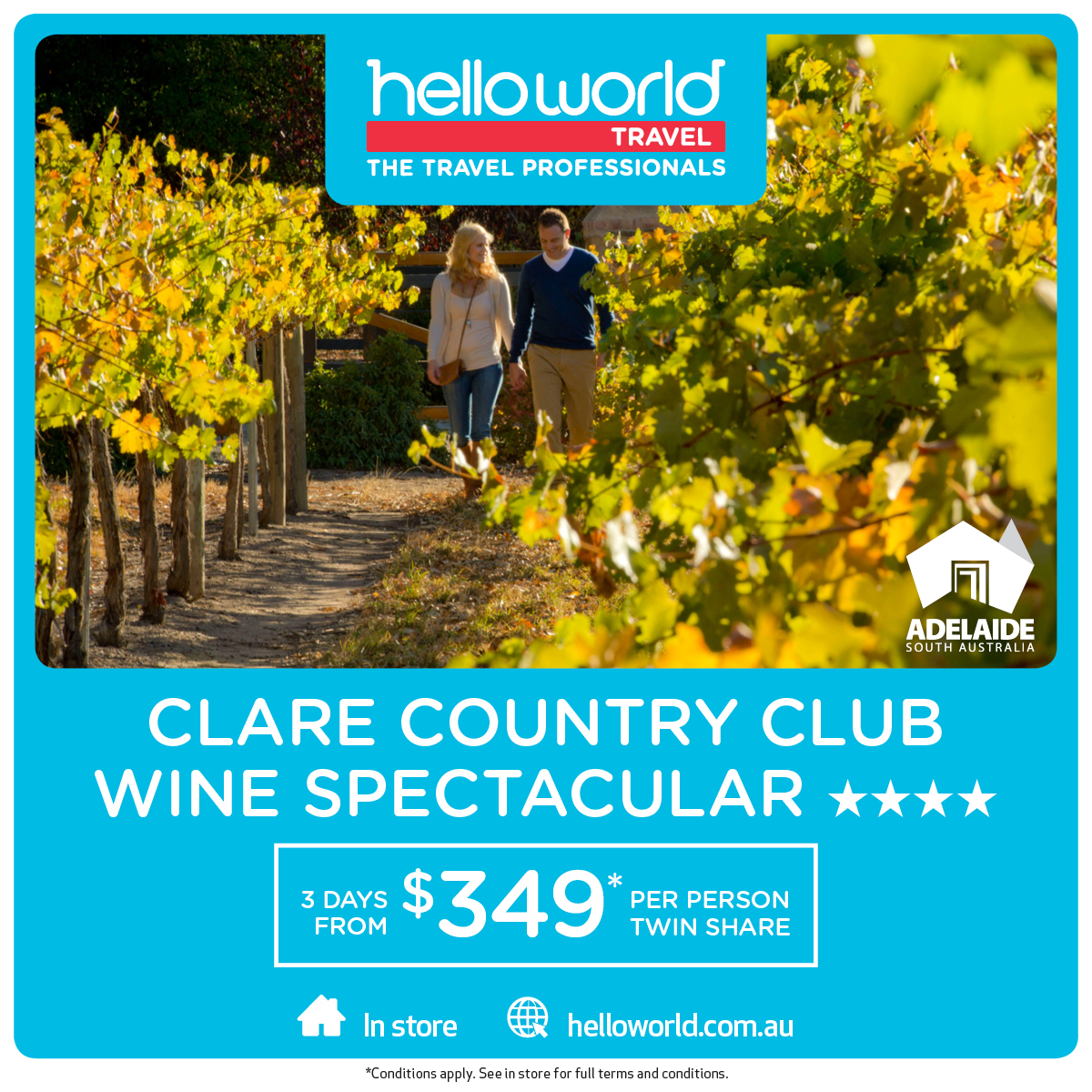 Clare Country Club Wine Spectacular